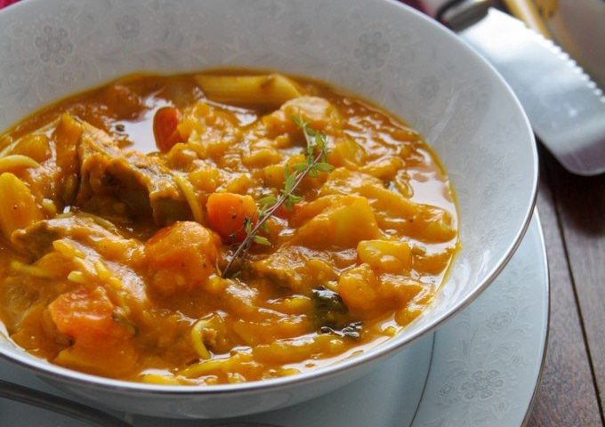 Soupjoumou | Soupe au giraumon haïtienne