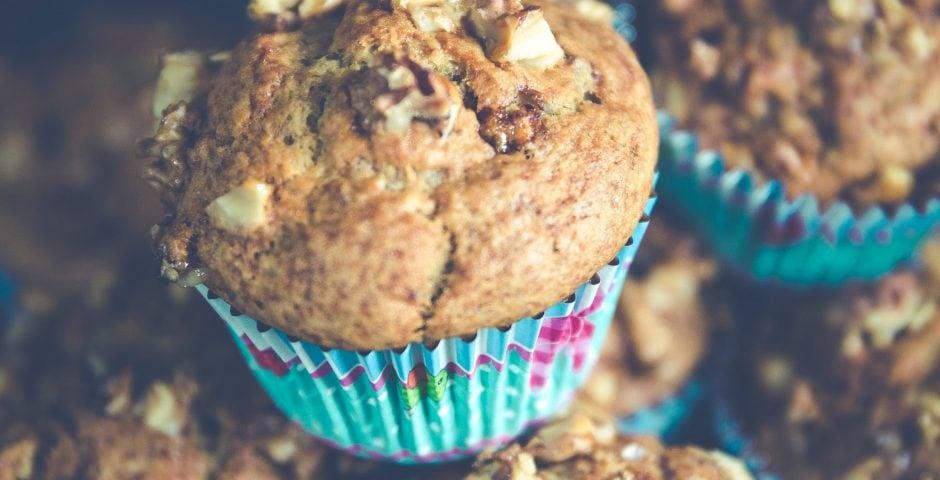 Muffins à plein de bonnes choses