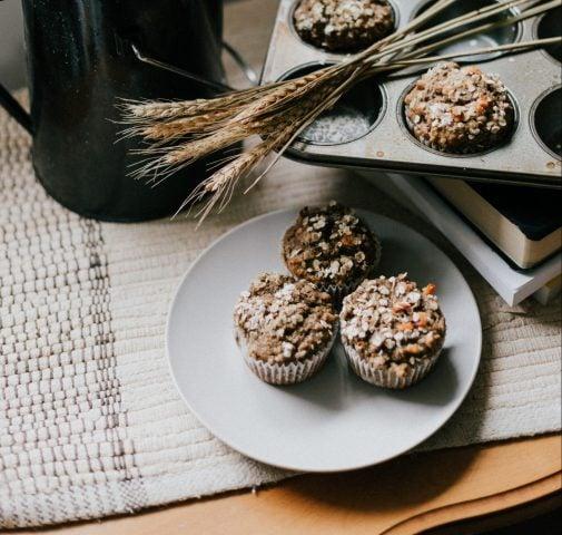 Muffins au bananes, noix et 5 épices chinoises Marianne Lefebvre | Nutrition spécialisée en nutrition internationale