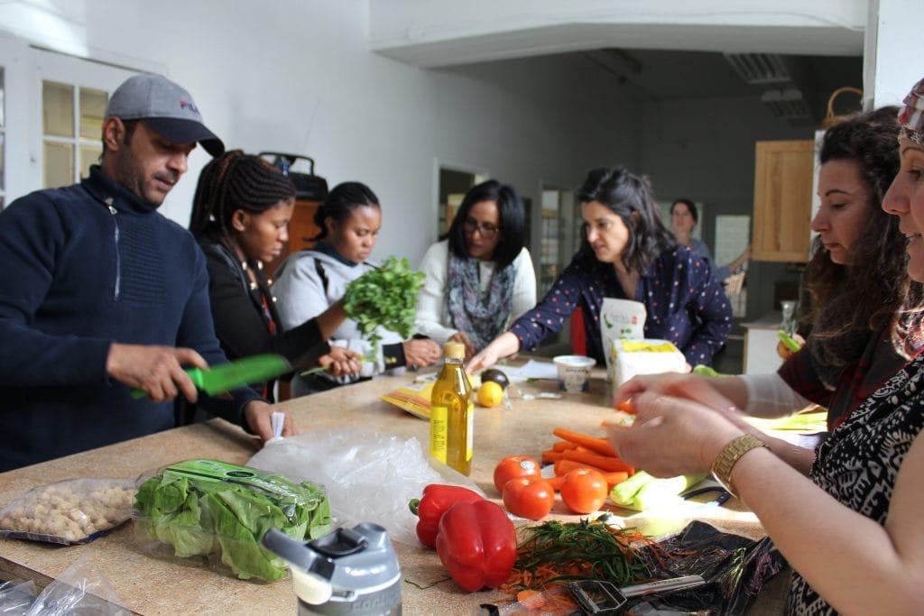 Ateliers team builing Marianne Lefebvre | Nutrition spécialisée en nutrition internationale