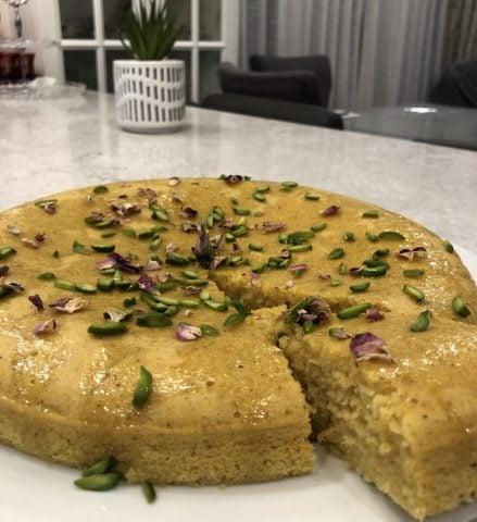 Gâteau safran et orange