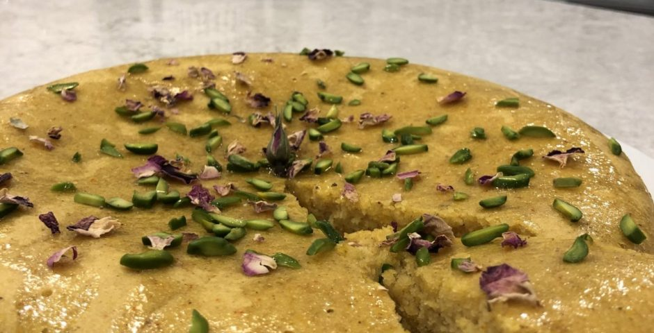Gâteau safran et orange Marianne Lefebvre | Nutrition spécialisée en nutrition internationale