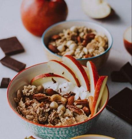 Gruau pommes et cannelle craquant Marianne Lefebvre | Nutrition spécialisée en nutrition internationale