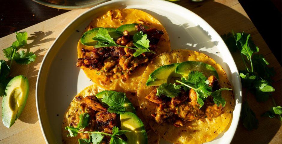Tacos au poulet du Mexique